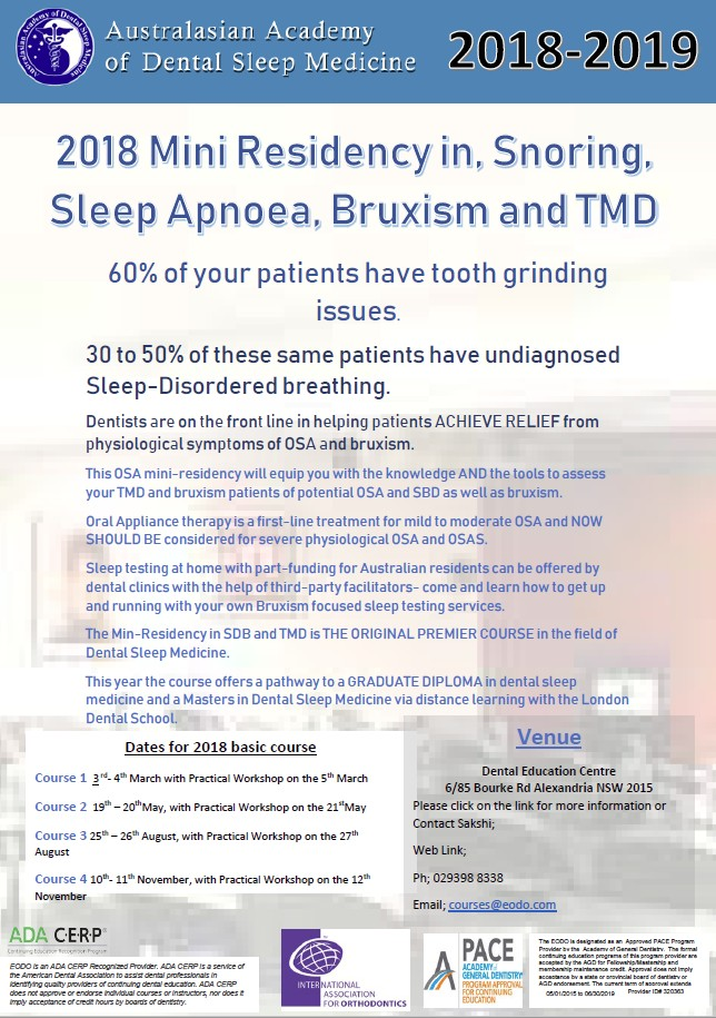 Australian Academy of Dental Sleep Medicine